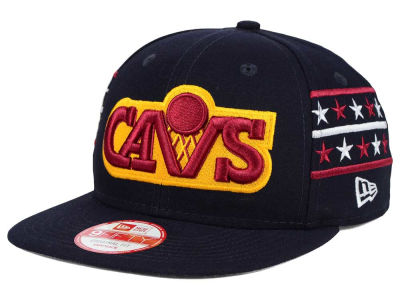 Cleveland Cavaliers New Era NBA HWC Fine Side 9FIFTY Snapback Cap