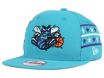 Charlotte Hornets New Era NBA HWC Fine Side 9FIFTY Snapback Cap