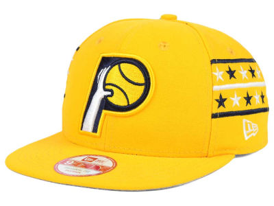 Indiana Pacers New Era NBA HWC Fine Side 9FIFTY Snapback Cap