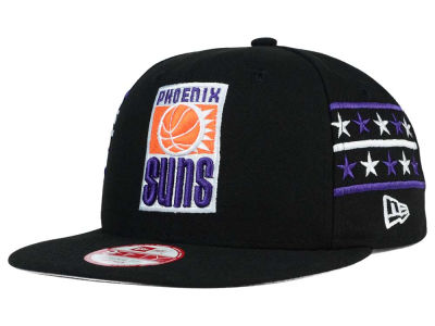 Phoenix Suns New Era NBA HWC Fine Side 9FIFTY Snapback Cap