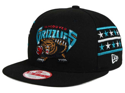 Vancouver Grizzlies New Era NBA HWC Fine Side 9FIFTY Snapback Cap