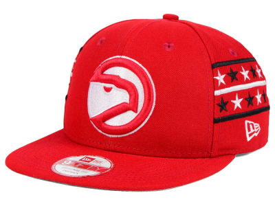 Atlanta Hawks New Era NBA HWC Fine Side 9FIFTY Snapback Cap