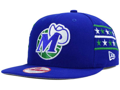 Dallas Mavericks New Era NBA HWC Fine Side 9FIFTY Snapback Cap