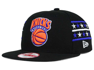 New York Knicks New Era NBA HWC Fine Side 9FIFTY Snapback Cap