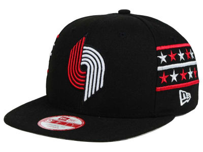 Portland Trail Blazers New Era NBA HWC Fine Side 9FIFTY Snapback Cap