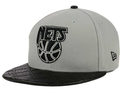 New Jersey Nets New Era NBA HWC Visor Cross 9FIFTY Snapback Cap