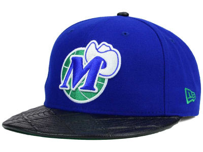 Dallas Mavericks New Era NBA HWC Visor Cross 9FIFTY Snapback Cap