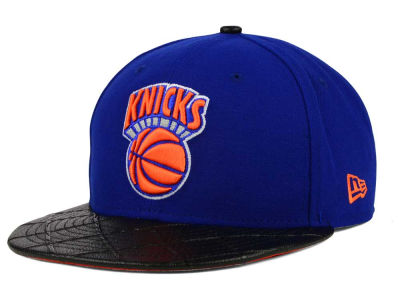 New York Knicks New Era NBA HWC Visor Cross 9FIFTY Snapback Cap