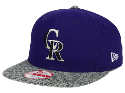 Colorado Rockies New Era MLB Premium 9FIFTY Snapback Cap