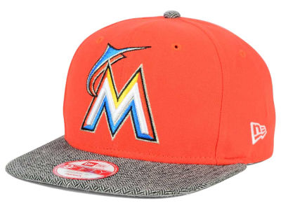 Miami Marlins New Era MLB Premium 9FIFTY Snapback Cap
