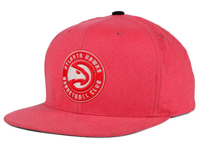 Atlanta Hawks Mitchell and Ness NBA Color Crease Snapback Cap