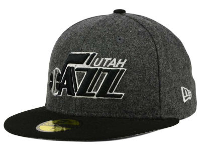 Utah Jazz New Era NBA HWC Shader Melt 59FIFTY Cap