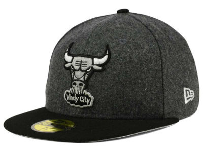 Chicago Bulls New Era NBA HWC Shader Melt 59FIFTY Cap