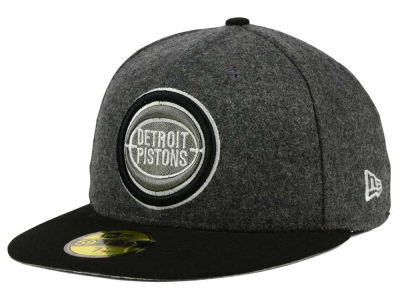 Detroit Pistons New Era NBA HWC Shader Melt 59FIFTY Cap