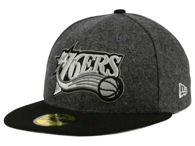 Philadelphia 76ers New Era NBA HWC Shader Melt 59FIFTY Cap