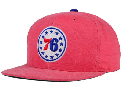 Philadelphia 76ers Mitchell and Ness NBA Color Crease Snapback Cap