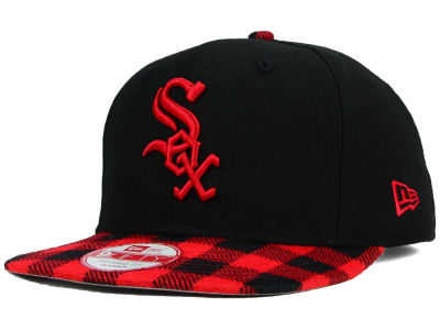 Chicago White Sox New Era MLB Premium Plaid 9FIFTY Snapback Cap