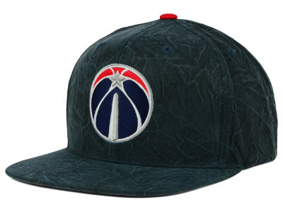 Washington Wizards Mitchell and Ness NBA Color Crease Snapback Cap