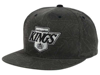 Los Angeles Kings Mitchell and Ness NHL Color Crease Snapback Cap