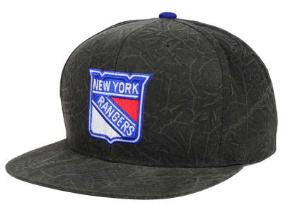 New York Rangers Mitchell and Ness NHL Color Crease Snapback Cap