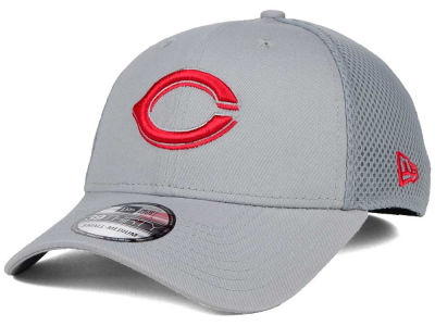 Cincinnati Reds New Era MLB Grey Neo 39THIRTY Cap