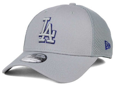 Los Angeles Dodgers New Era MLB Grey Neo 39THIRTY Cap