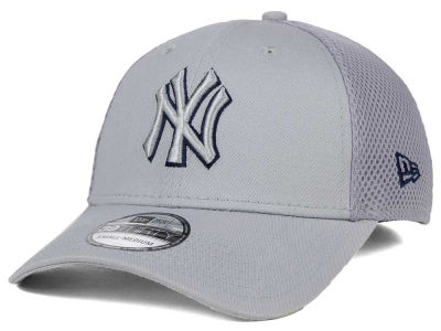 New York Yankees New Era MLB Grey Neo 39THIRTY Cap