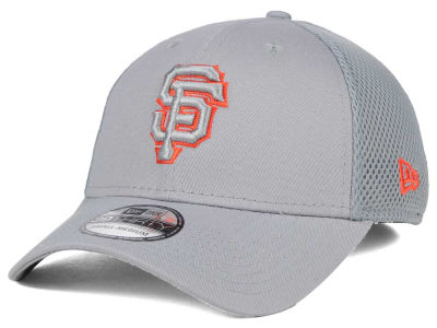 San Francisco Giants New Era MLB Grey Neo 39THIRTY Cap