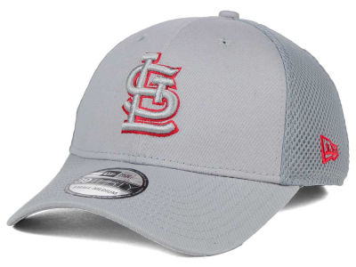 St. Louis Cardinals New Era MLB Grey Neo 39THIRTY Cap