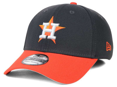 Houston Astros New Era MLB Graphite Team Classic 39THIRTY Cap