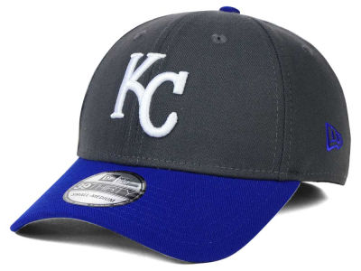 Kansas City Royals New Era MLB Graphite Team Classic 39THIRTY Cap