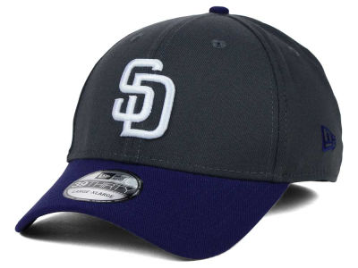 San Diego Padres New Era MLB Graphite Team Classic 39THIRTY Cap