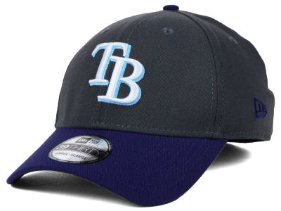 Tampa Bay Rays New Era MLB Graphite Team Classic 39THIRTY Cap