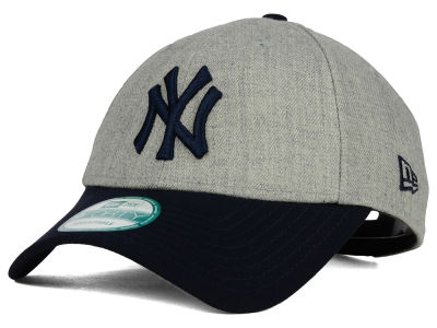 New York Yankees New Era MLB League Heather 9FORTY Cap