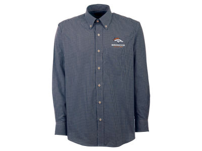 Denver Broncos NFL Men's Focus Long Sleeve Button Up Shirt