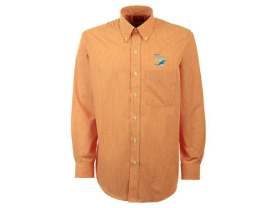 Miami Dolphins NFL Men's Focus Long Sleeve Button Up Shirt