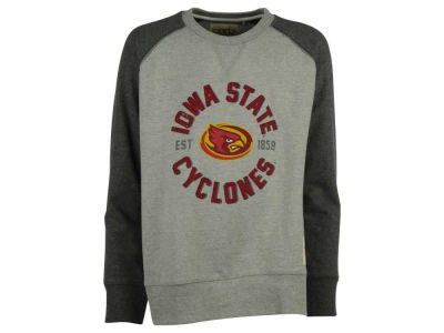 Iowa State Cyclones NCAA Youth Jay Long Sleeve Crew Fleece Sweatshirt