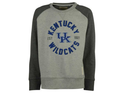Kentucky Wildcats NCAA Youth Jay Long Sleeve Crew Fleece Sweatshirt
