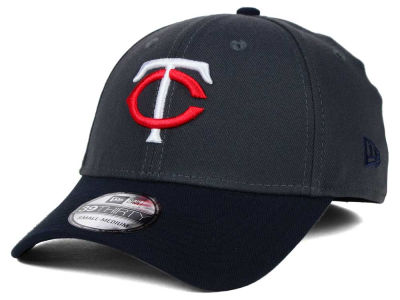 Minnesota Twins New Era MLB Graphite Team Classic 39THIRTY Cap