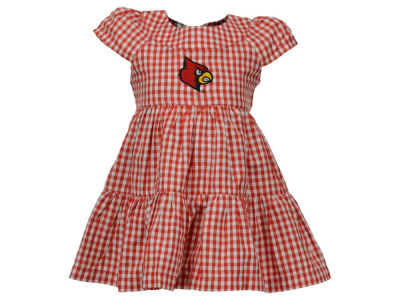 Louisville Cardinals Garb NCAA Infant Girls Bridgitte Dress