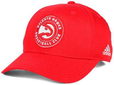 Atlanta Hawks adidas NBA Structured Basic Adjustable Cap