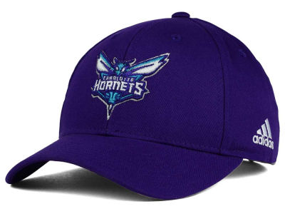 Charlotte Hornets adidas NBA Structured Basic Adjustable Cap