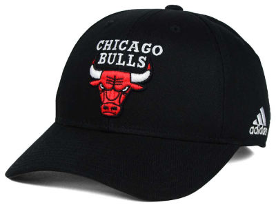 Chicago Bulls adidas NBA Structured Basic Adjustable Cap