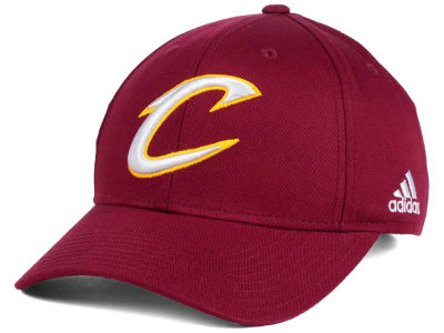 Cleveland Cavaliers adidas NBA Structured Basic Adjustable Cap