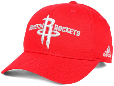 Houston Rockets adidas NBA Structured Basic Adjustable Cap