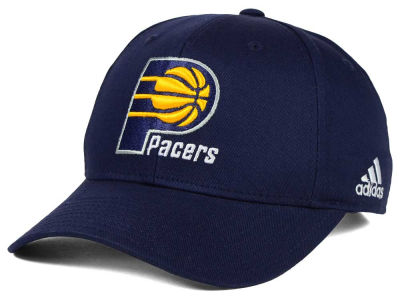 Indiana Pacers adidas NBA Structured Basic Adjustable Cap