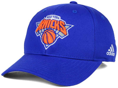 New York Knicks adidas NBA Structured Basic Adjustable Cap