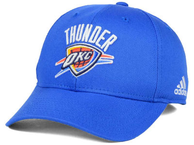 Oklahoma City Thunder adidas NBA Structured Basic Adjustable Cap