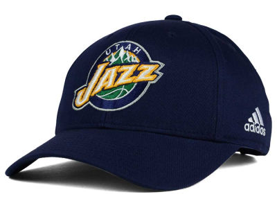 Utah Jazz adidas NBA Structured Basic Adjustable Cap