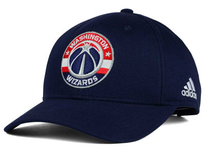 Washington Wizards adidas NBA Structured Basic Adjustable Cap